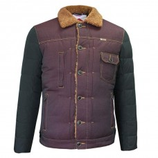 Куртка Lee Cooper Sherpa Burgundy