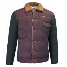 Куртка Lee Cooper Sherpa Burgundy