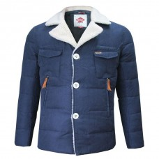 Куртка Lee Cooper Sherpa Collar Navy Jacket