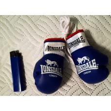 Сувенирные перчатки Lonsdale синие
