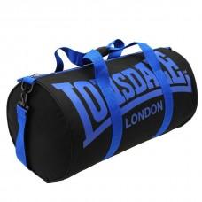Сумка Lonsdale Barrel черный/синий