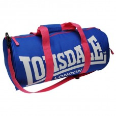 Сумка Lonsdale Barrel Bag Blue/Pink/White