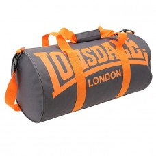 Сумка Lonsdale Barrel Bag Grey/Orange