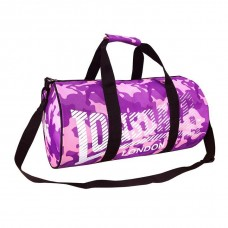 Сумка Lonsdale Barrel Bag Pink/Purp Camo